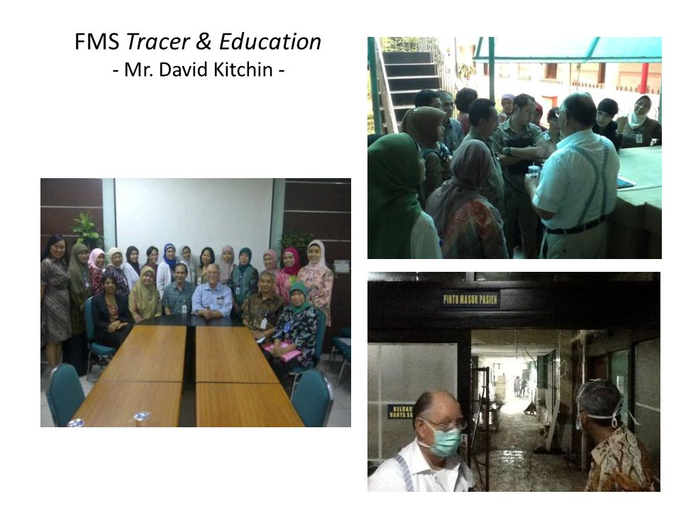 FMS Tracer & Education - Mr. David Kitchin -