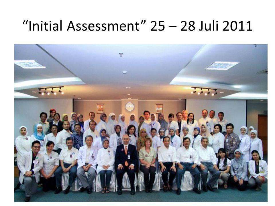 Initial Assessment 25 – 28 Juli 2011