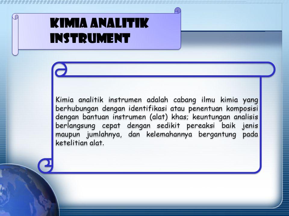 Kimia analitik instrument