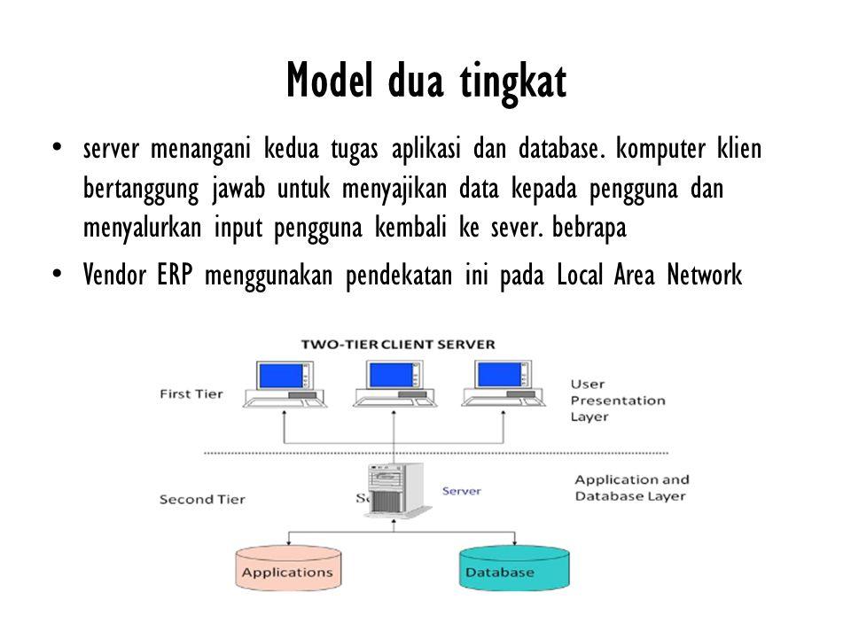 Model dua tingkat