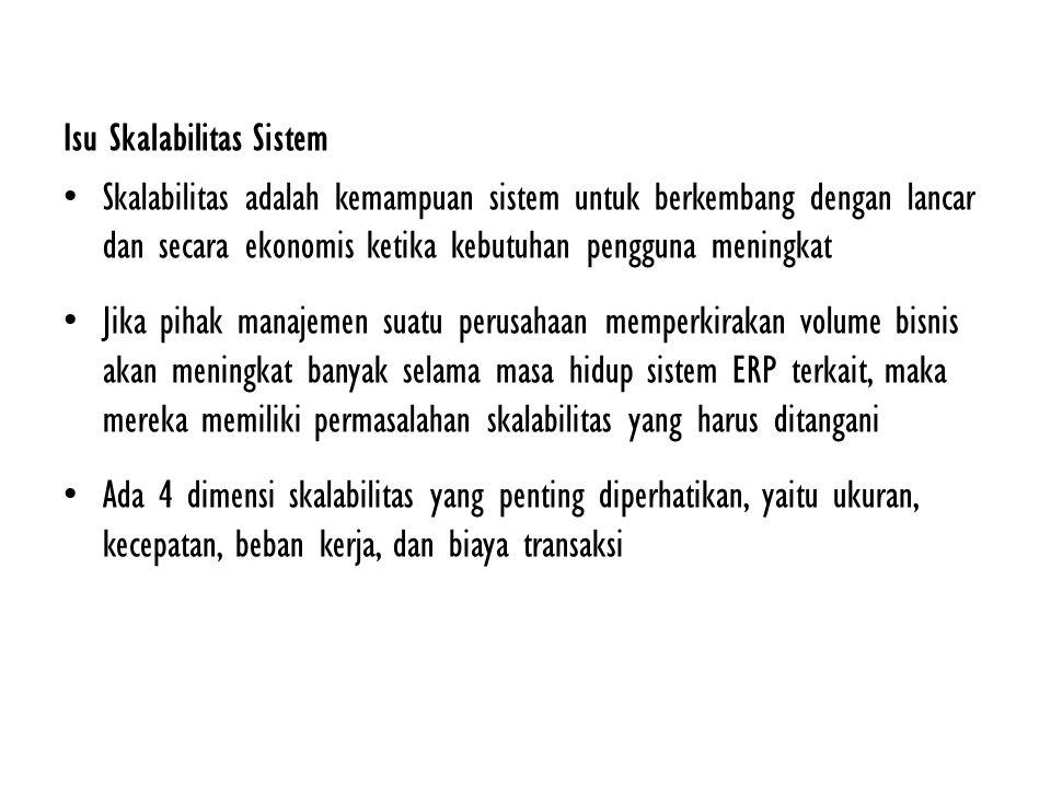 Isu Skalabilitas Sistem