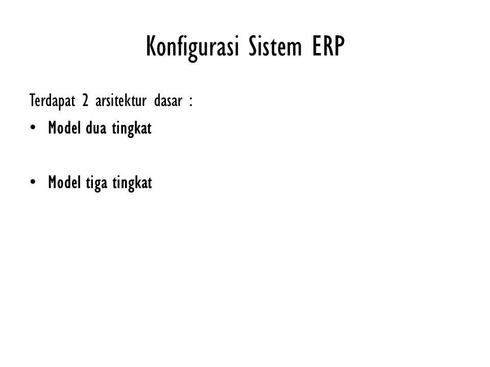 Konfigurasi Sistem ERP