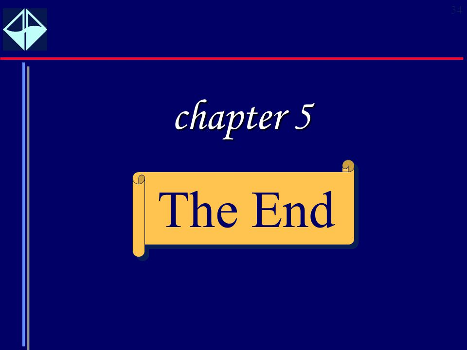 chapter 5 The End