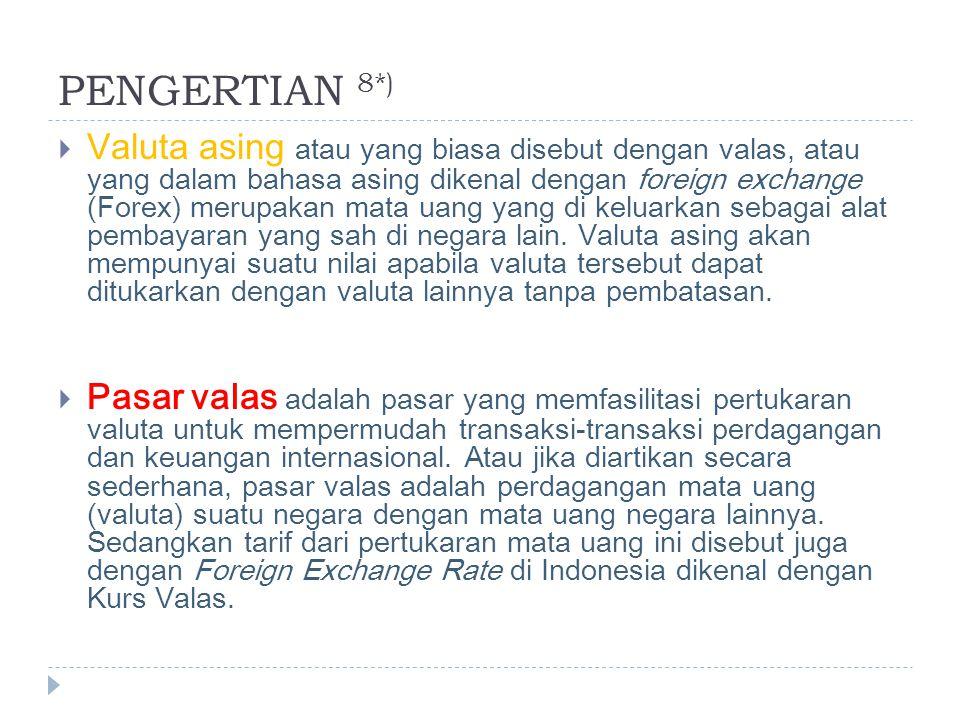 PENGERTIAN 8*)