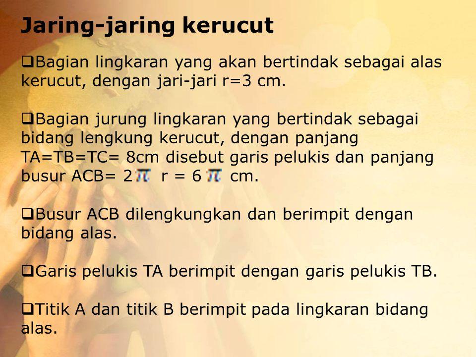 Jaring-jaring kerucut