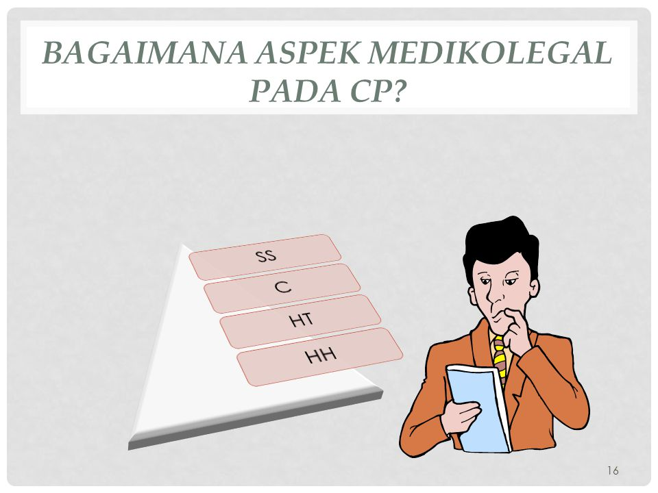 Bagaimana aspek medikolegal pada CP