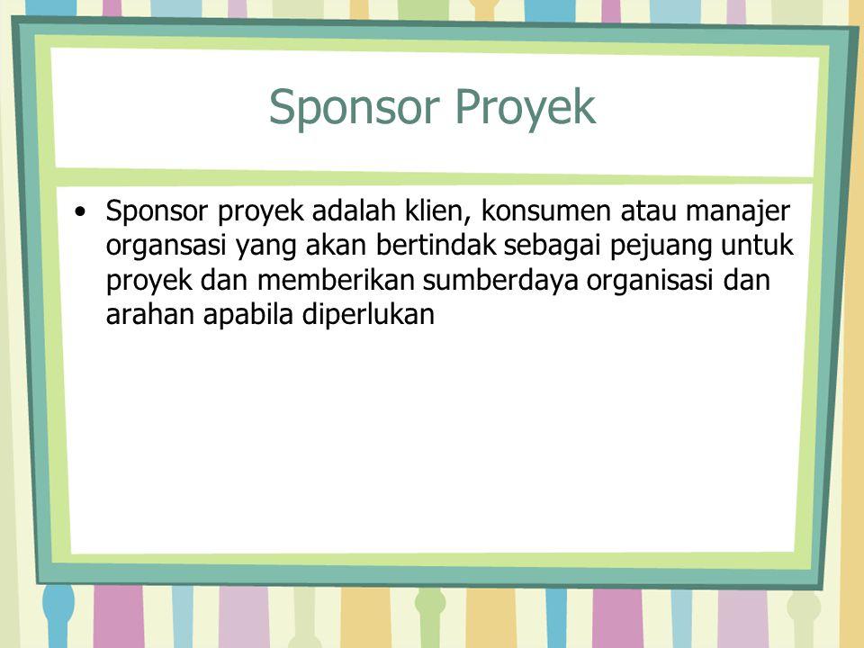 Sponsor Proyek