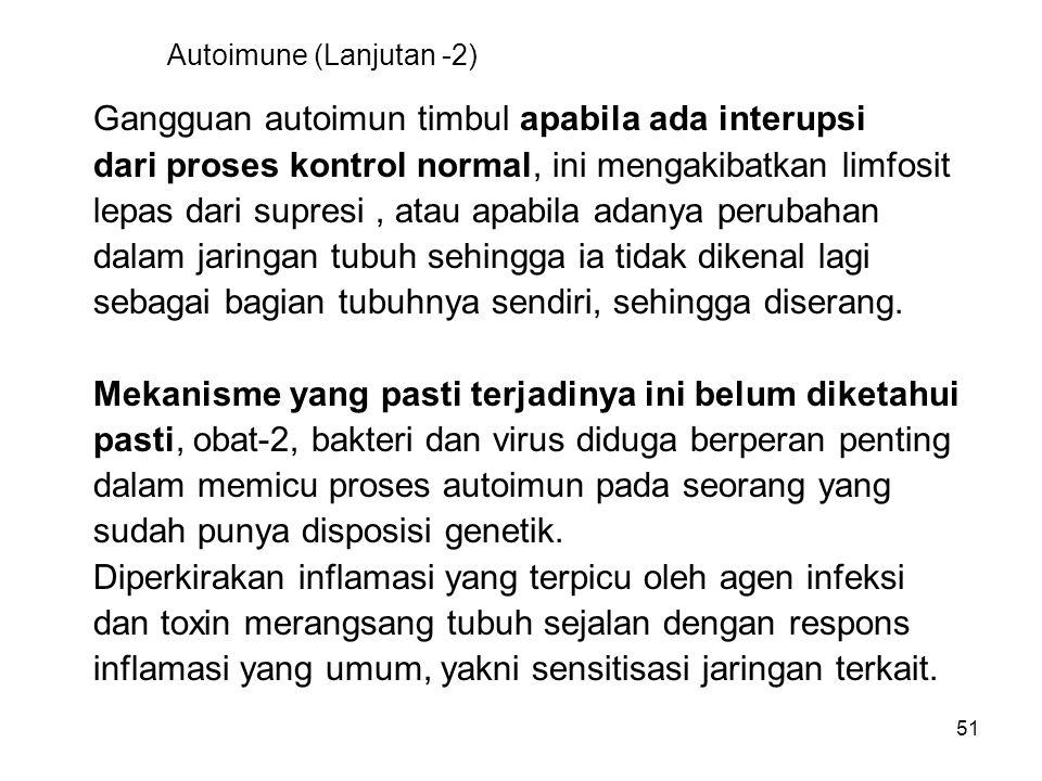 Autoimune (Lanjutan -2)