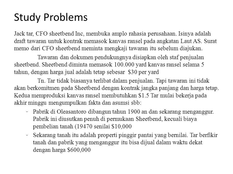 Study Problems