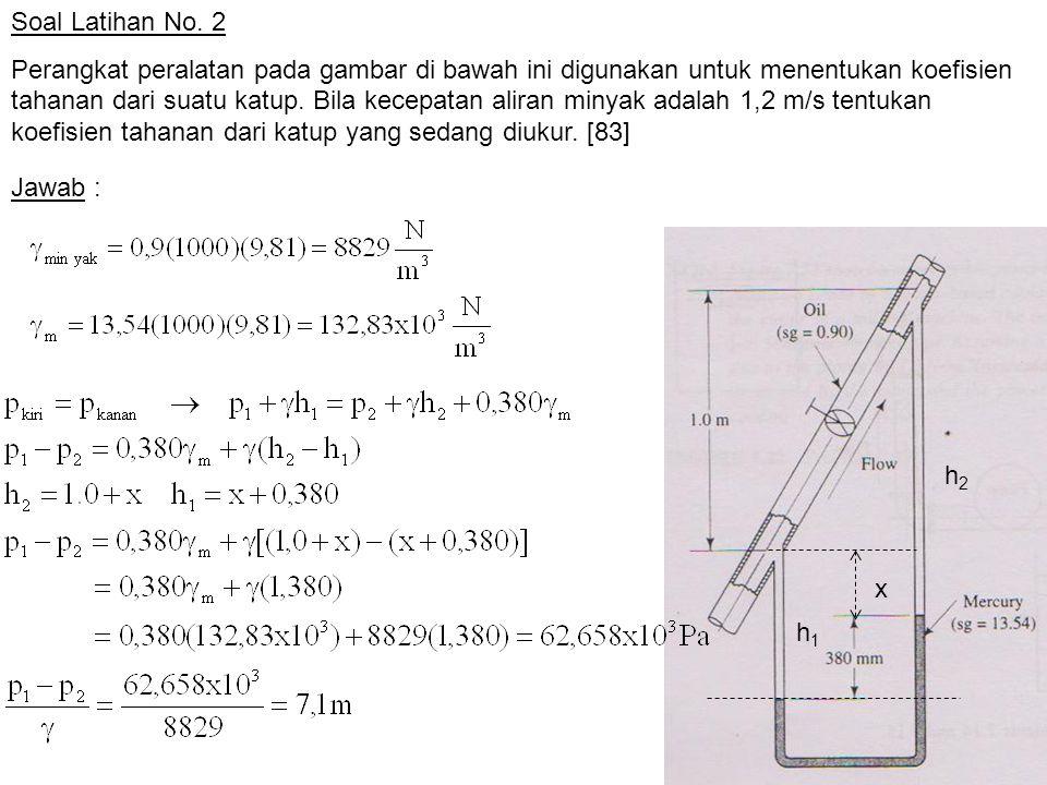 Soal Latihan No. 2