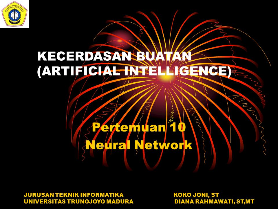 Pertemuan 10 Neural Network