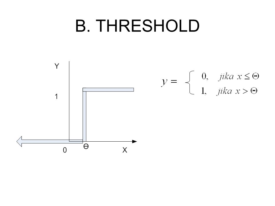 B. THRESHOLD