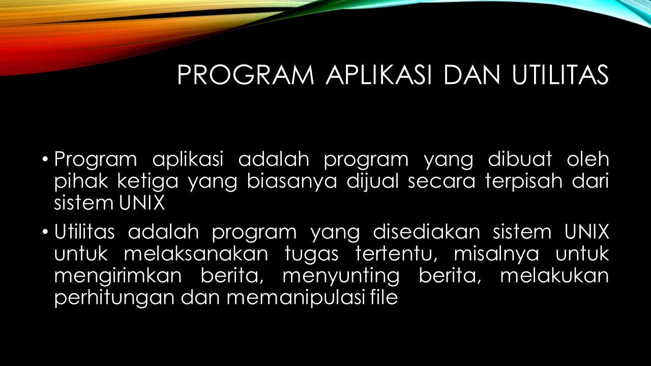 Program Aplikasi dan Utilitas