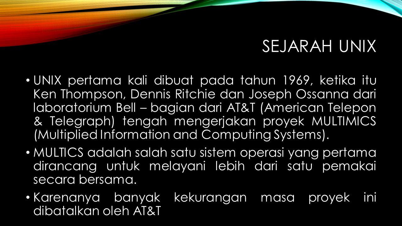Sejarah UNIX