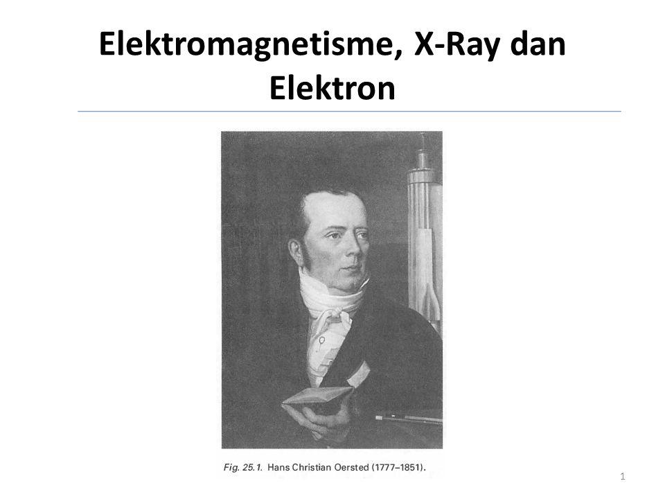 Elektromagnetisme, X-Ray dan Elektron
