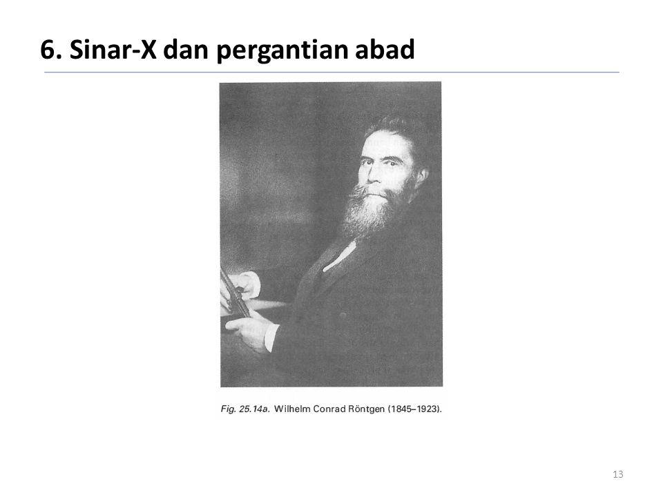 6. Sinar-X dan pergantian abad