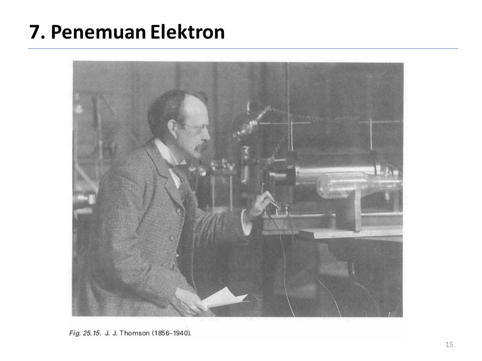 7. Penemuan Elektron