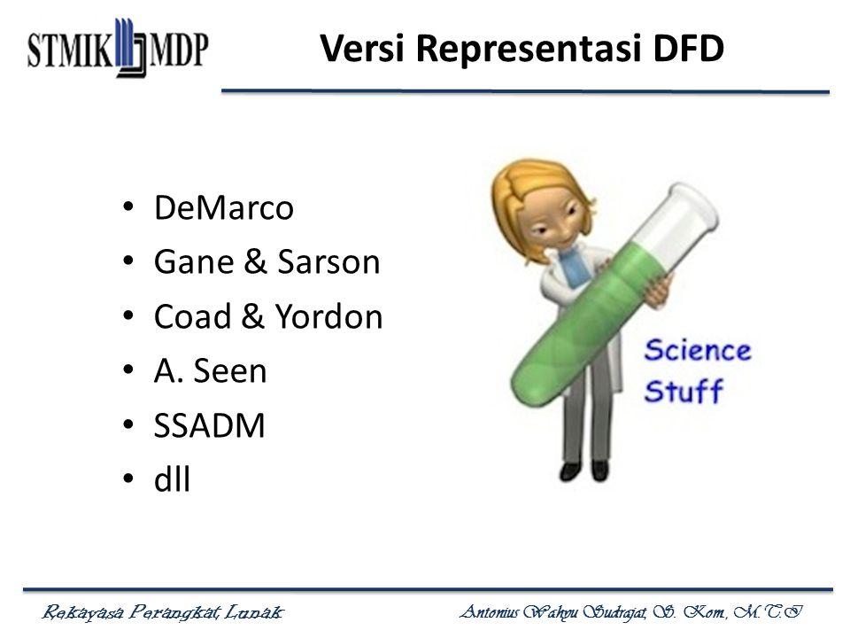 Versi Representasi DFD