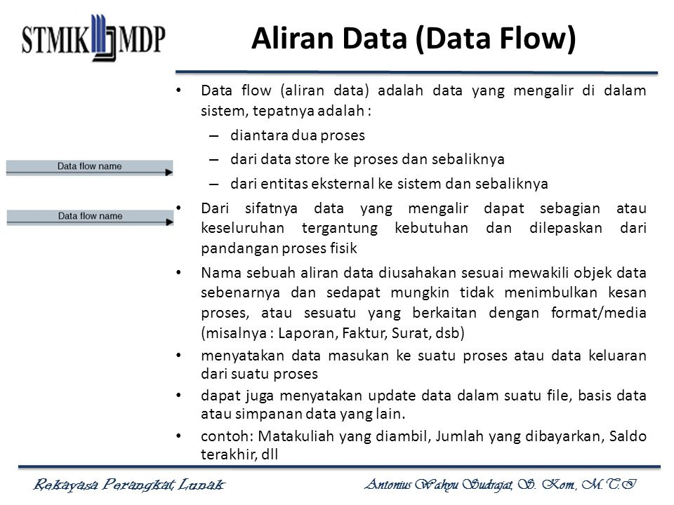 Aliran Data (Data Flow)