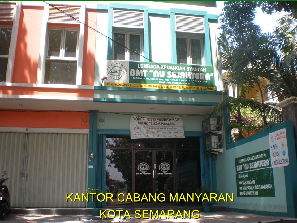 KANTOR CABANG MANYARAN