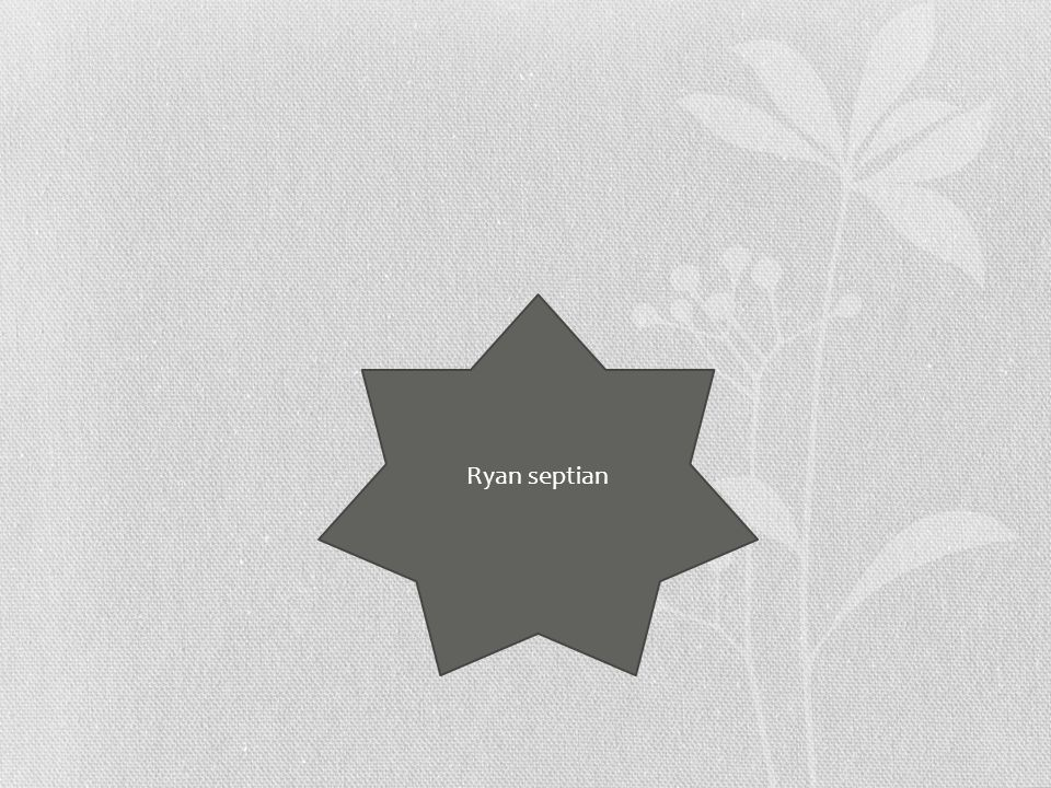 Ryan septian