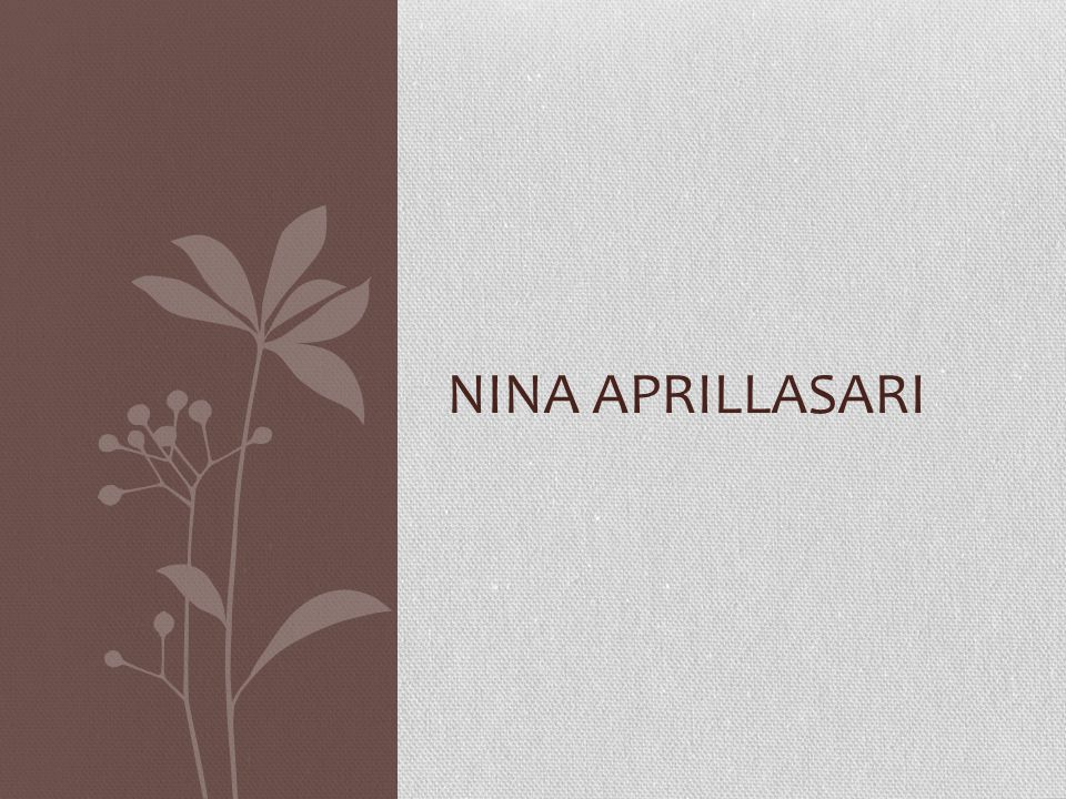 Nina AprillaSari