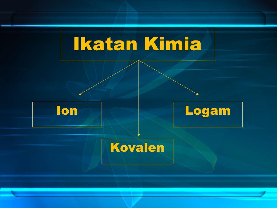 Ikatan Kimia Ion Logam Kovalen