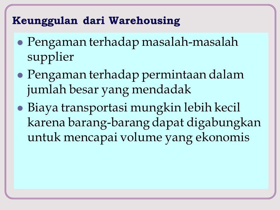 Keunggulan dari Warehousing