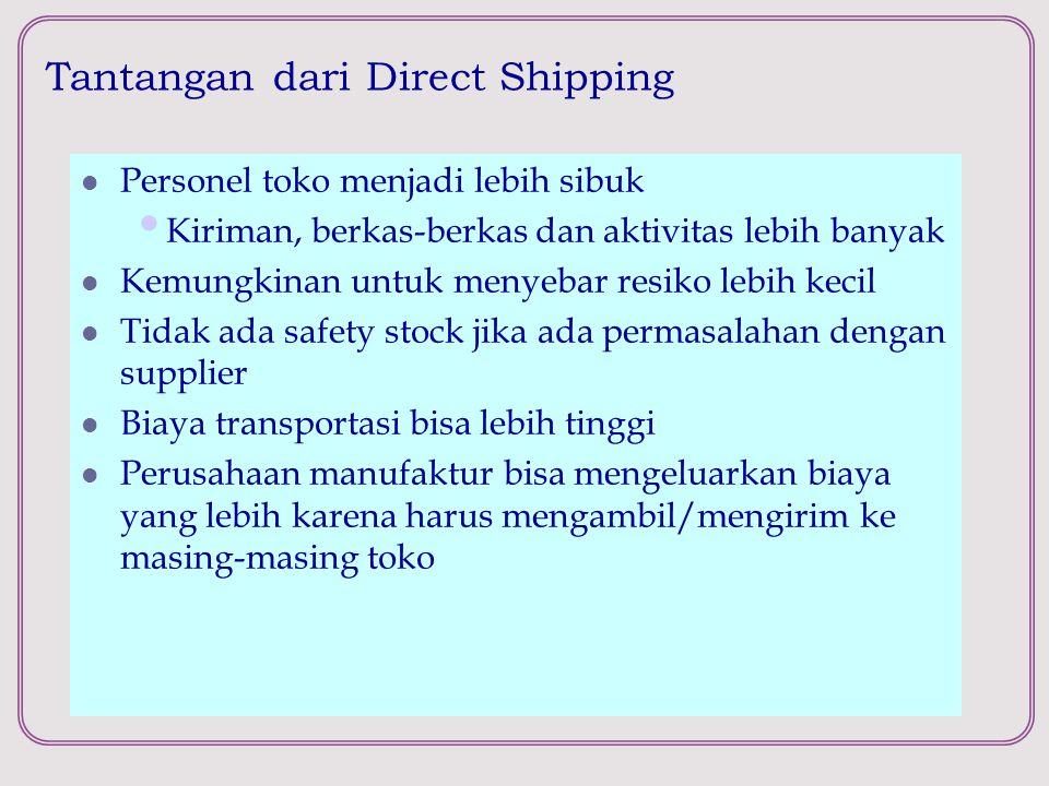 Tantangan dari Direct Shipping