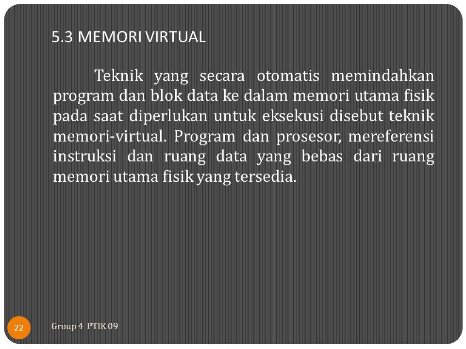 5.3 MEMORI VIRTUAL