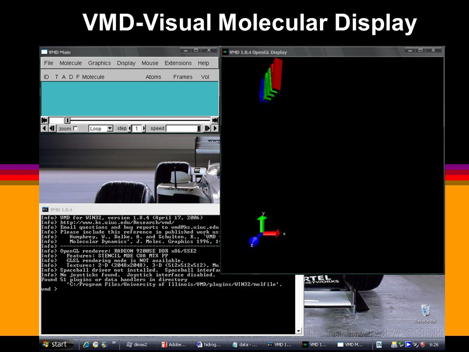 VMD-Visual Molecular Display