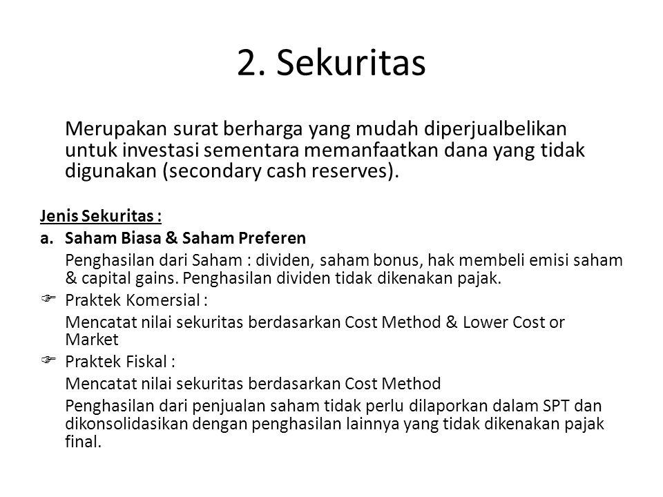 2. Sekuritas
