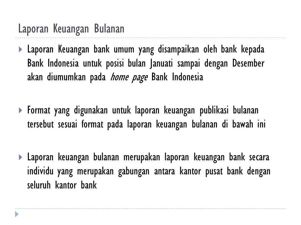 Laporan Keuangan Bulanan