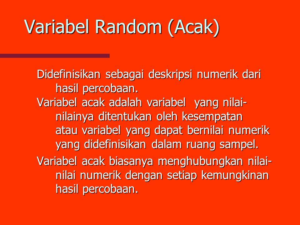 Variabel Random (Acak)