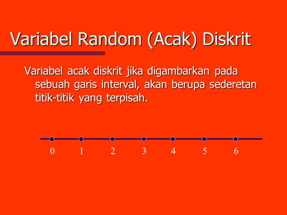 Variabel Random (Acak) Diskrit