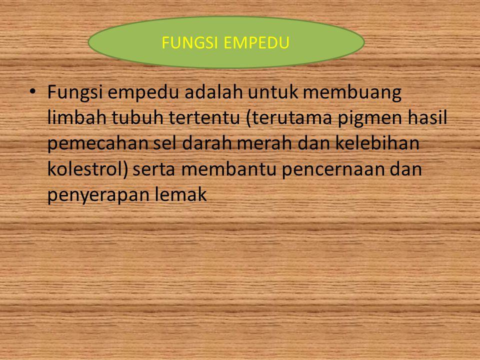 FUNGSI EMPEDU