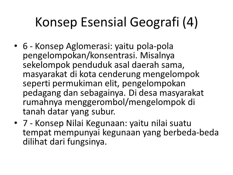 Konsep Esensial Geografi (4)