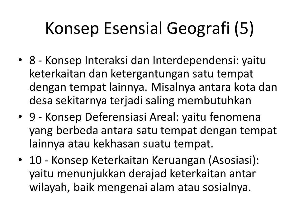 Konsep Esensial Geografi (5)