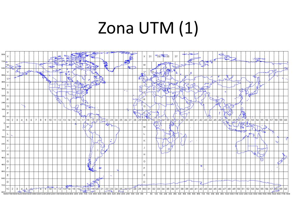 Zona UTM (1)