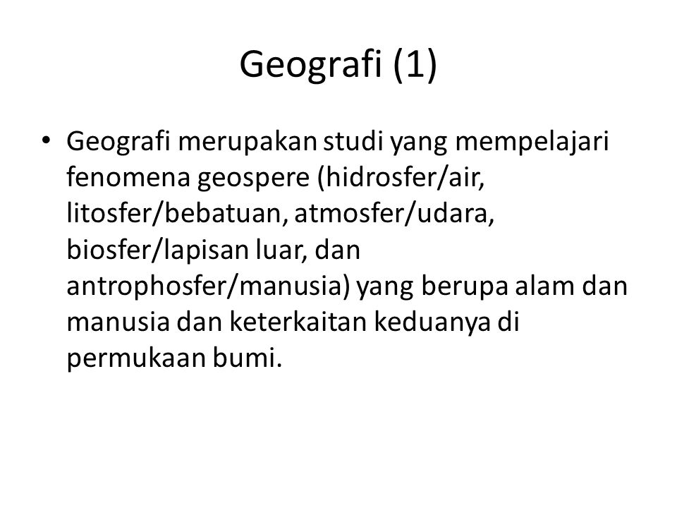 Geografi (1)