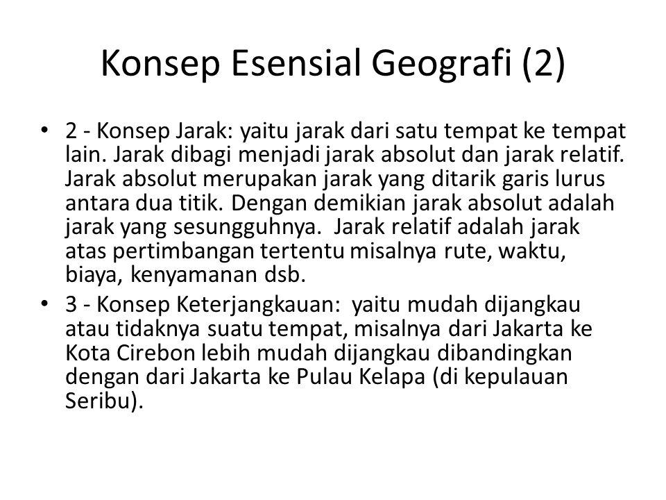 Konsep Esensial Geografi (2)