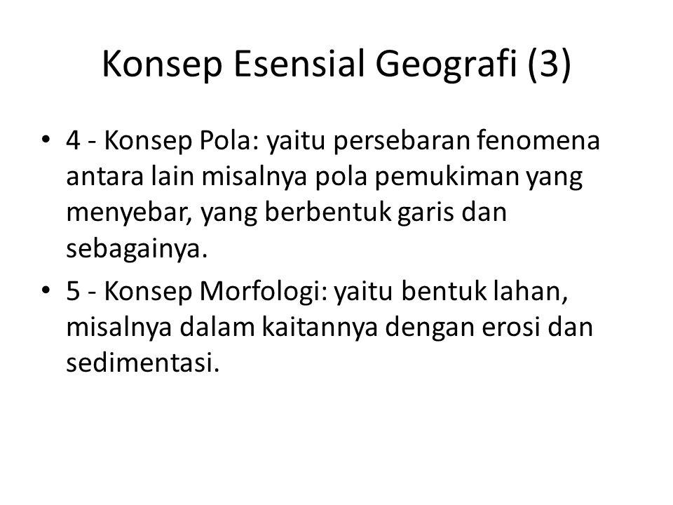 Konsep Esensial Geografi (3)