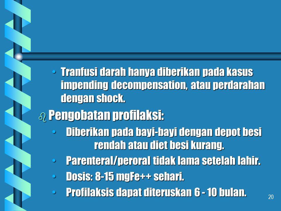 Pengobatan profilaksi: