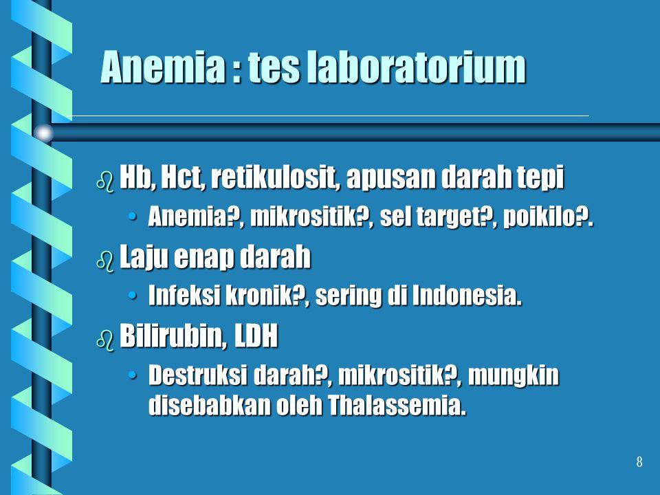 Anemia : tes laboratorium