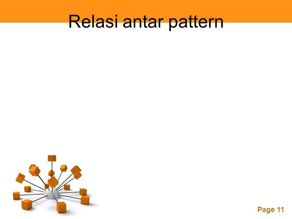 Relasi antar pattern