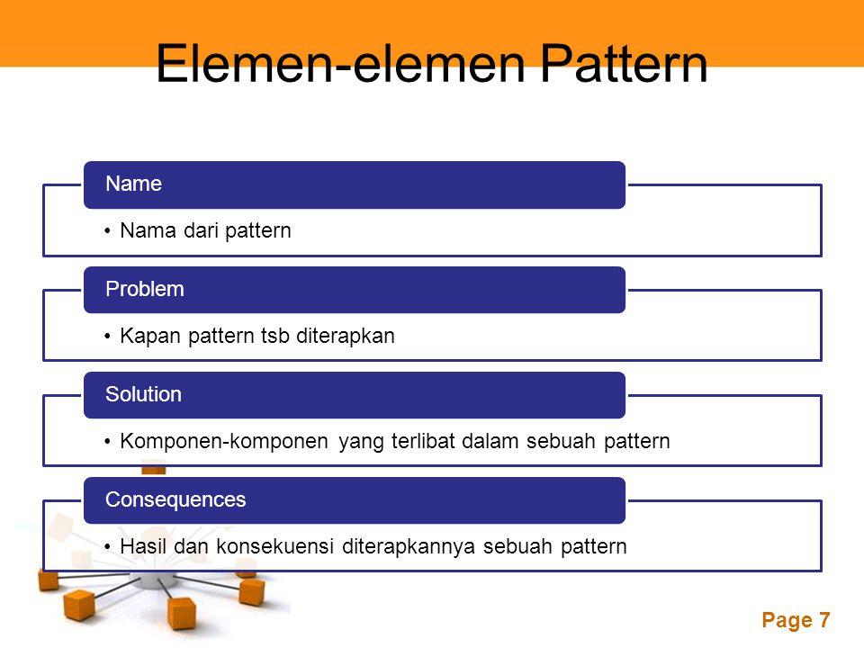 Elemen-elemen Pattern