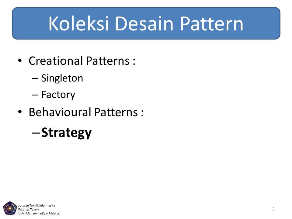 Koleksi Desain Pattern