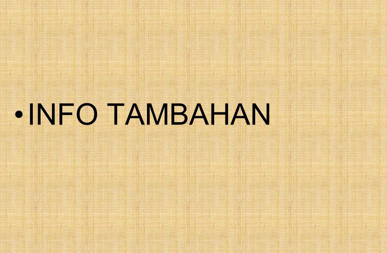 INFO TAMBAHAN