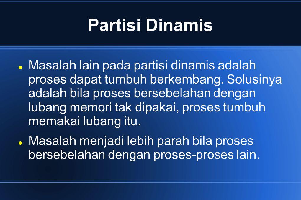 Partisi Dinamis