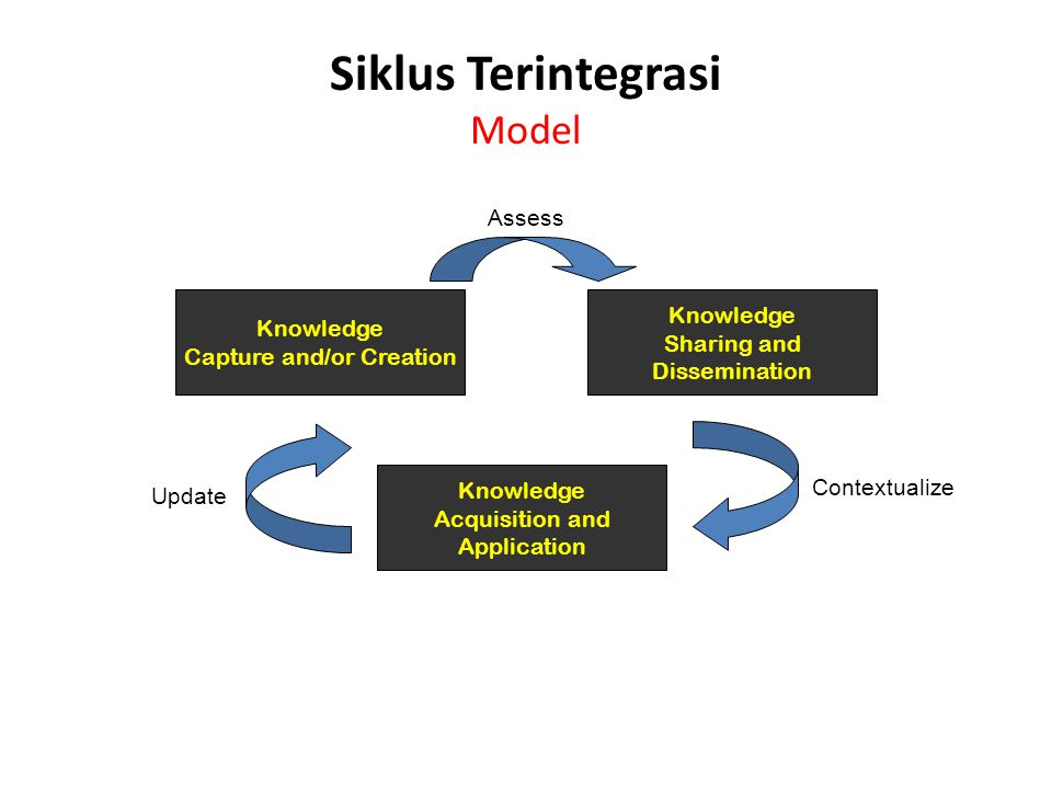 Siklus Terintegrasi Model